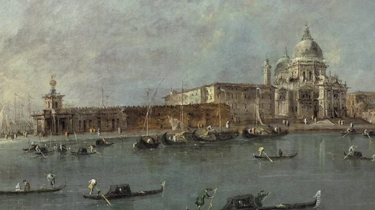 Old Master Views auction at Christies