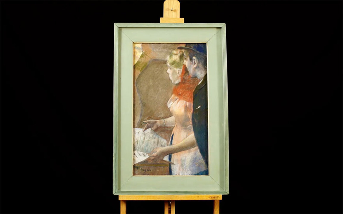 5 minutes with… Edgar Degas' D auction at Christies