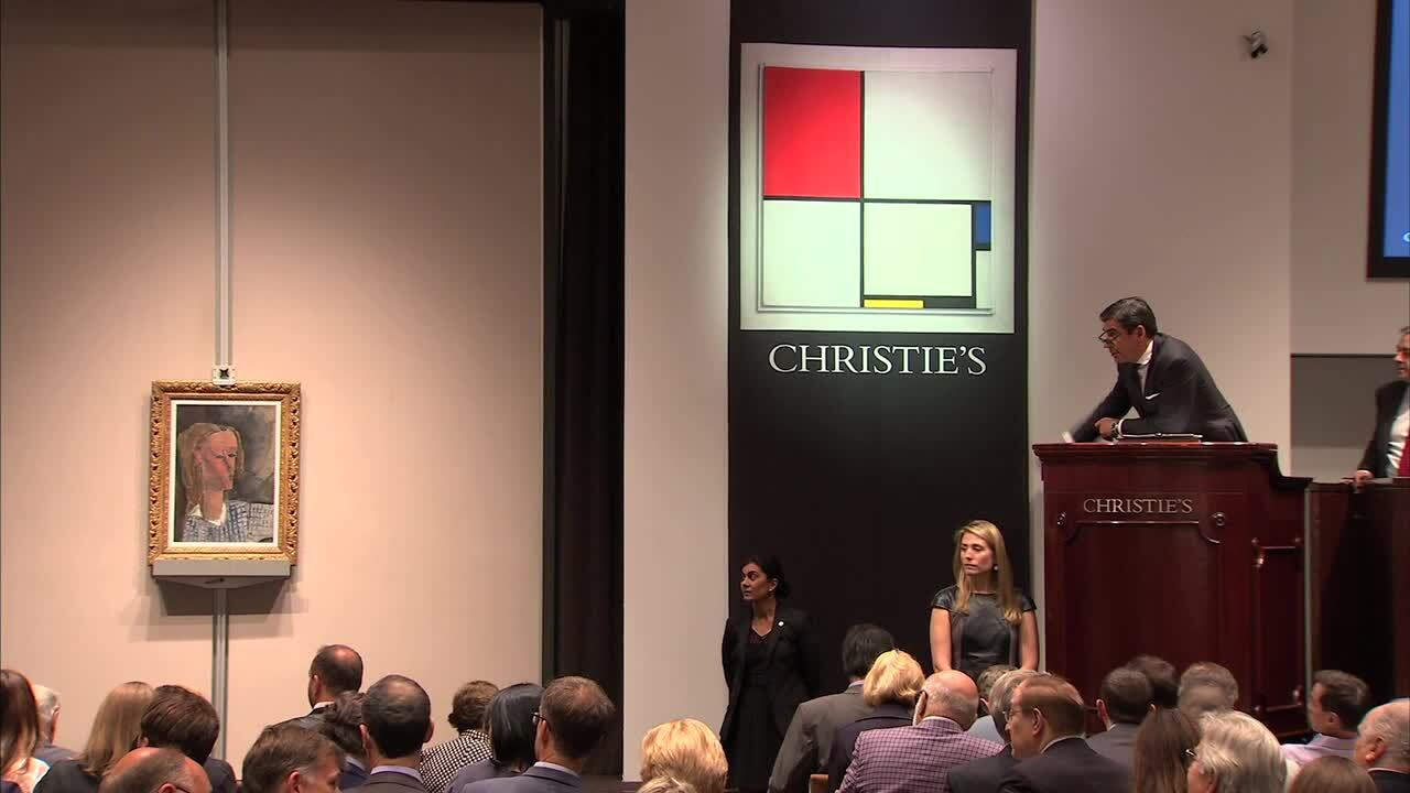In The Saleroom: Amedeo Modigl auction at Christies
