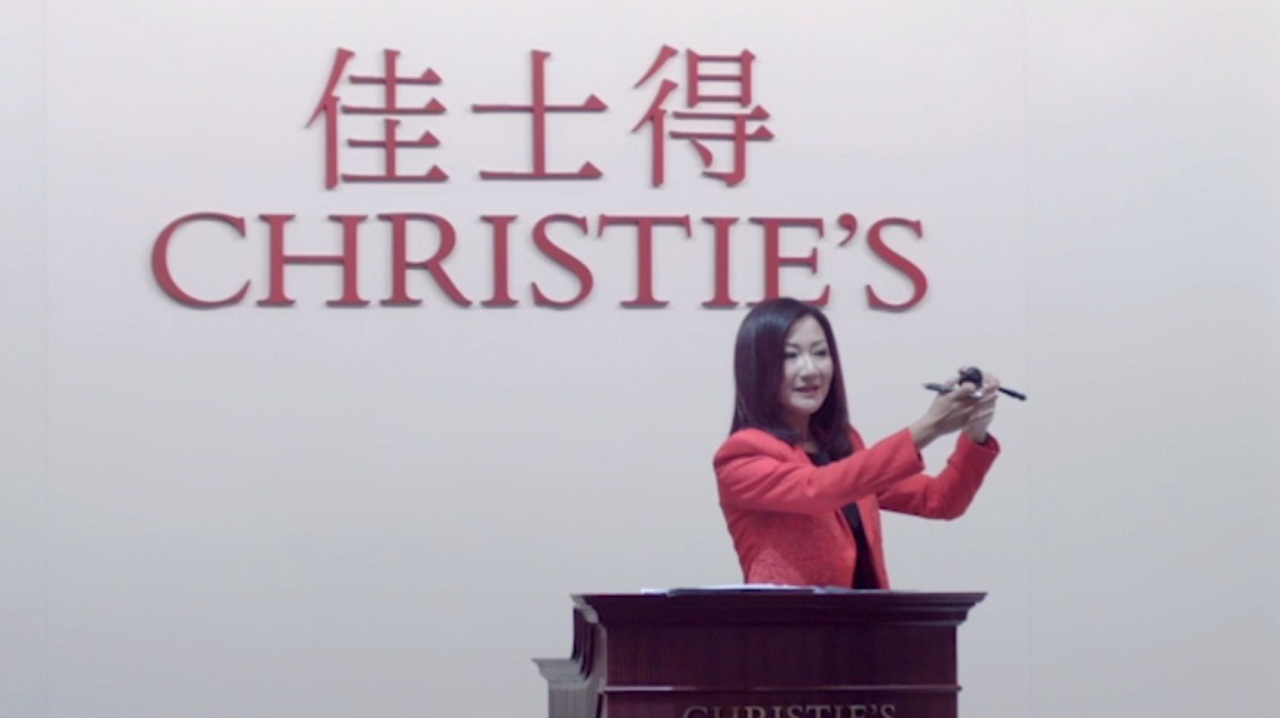Art Shines in Shanghai as Glob auction at Christies