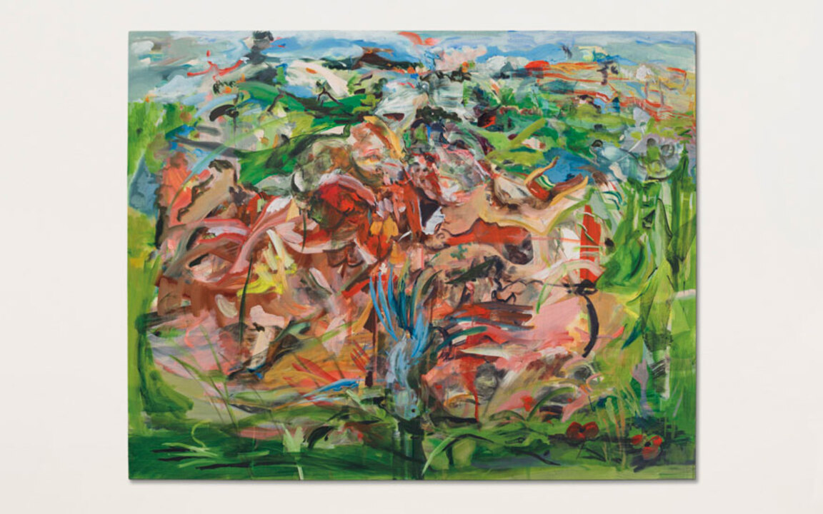 'The art world has an enormous auction at Christies