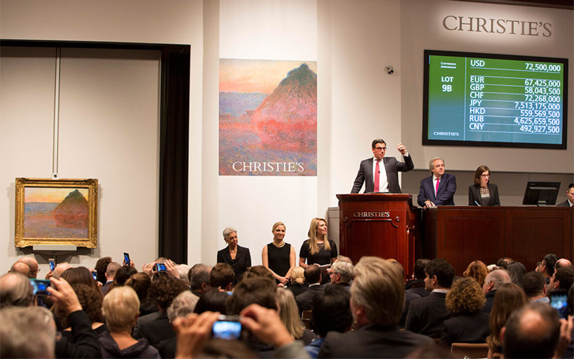 'Quality wins' — Monet's world auction at Christies