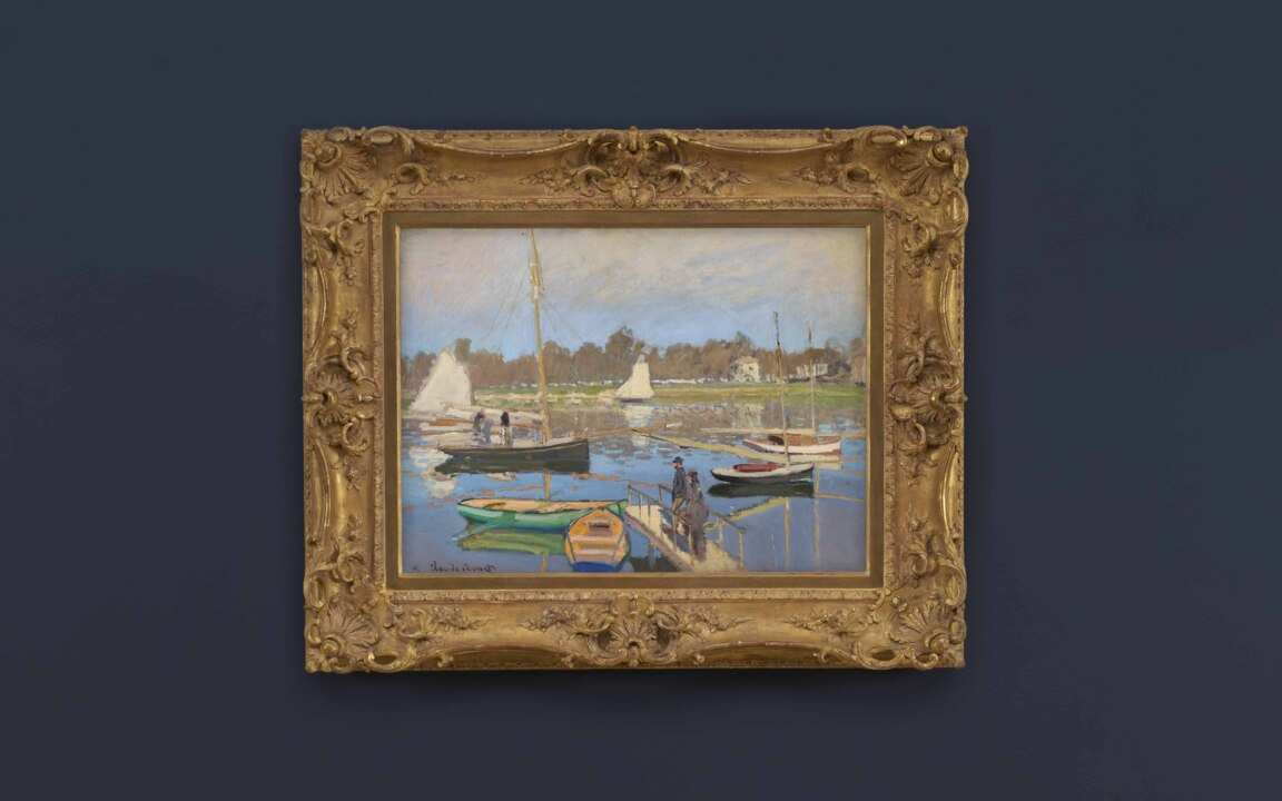 Claude Monet's Le bassin d'Arg auction at Christies