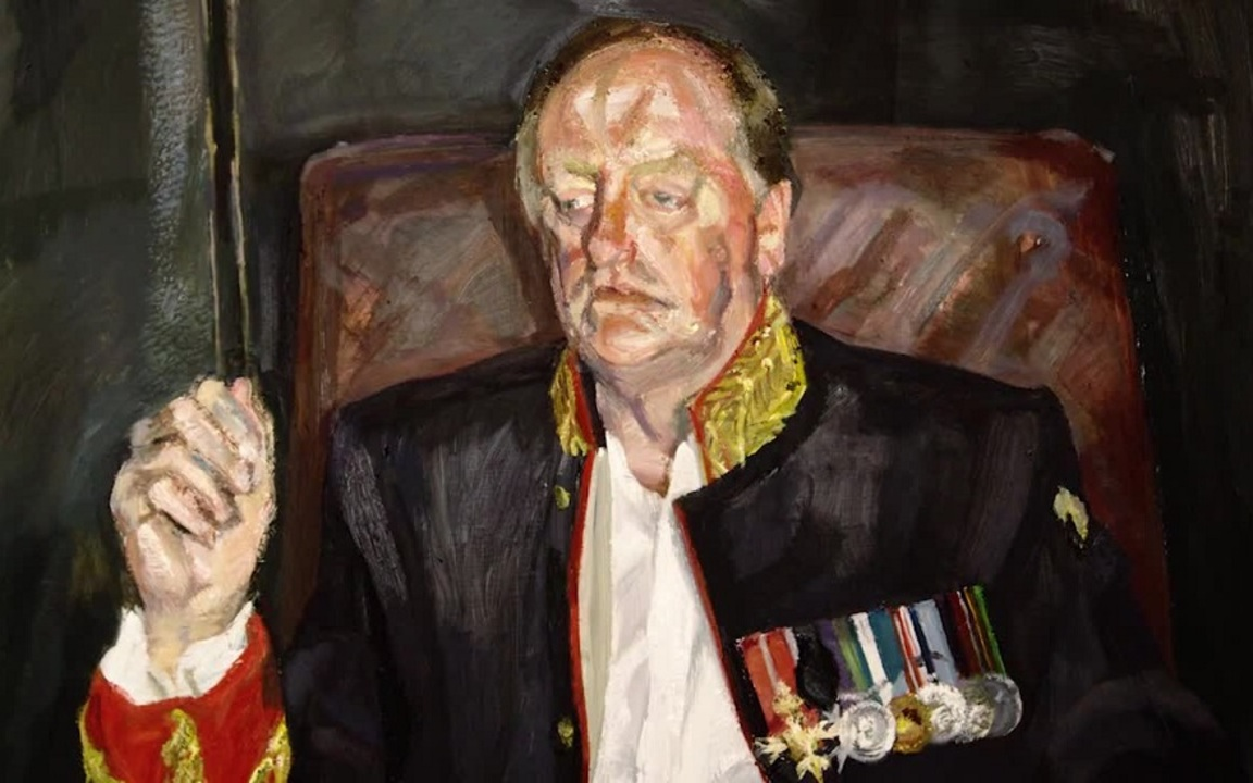 Lucian Freud's The Brigadier auction at Christies