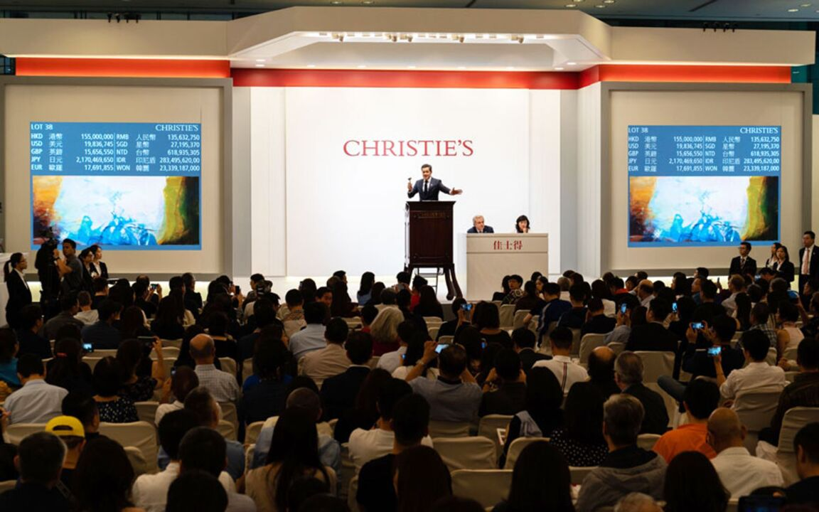 Spring auctions in Hong Kong t auction at Christies