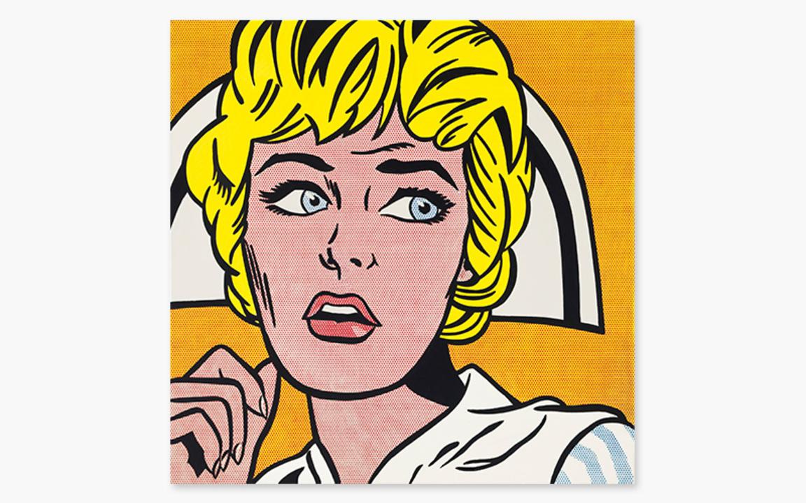 Roy Lichtenstein's Nurse auction at Christies