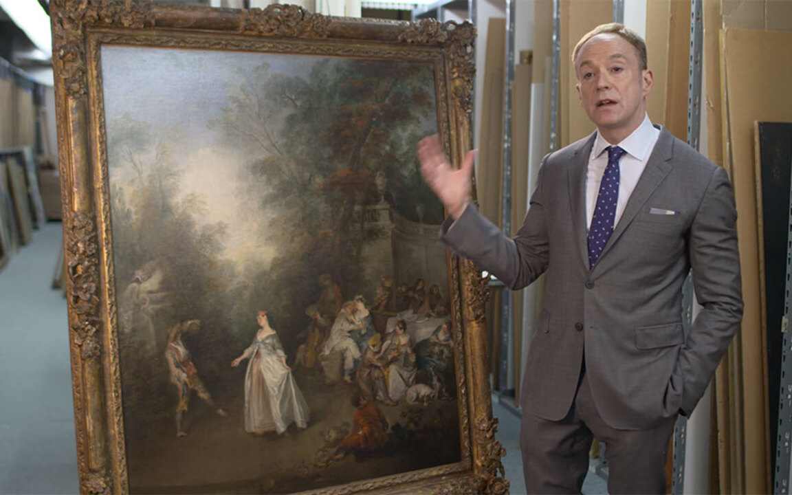 'An entirely new kind of paint auction at Christies
