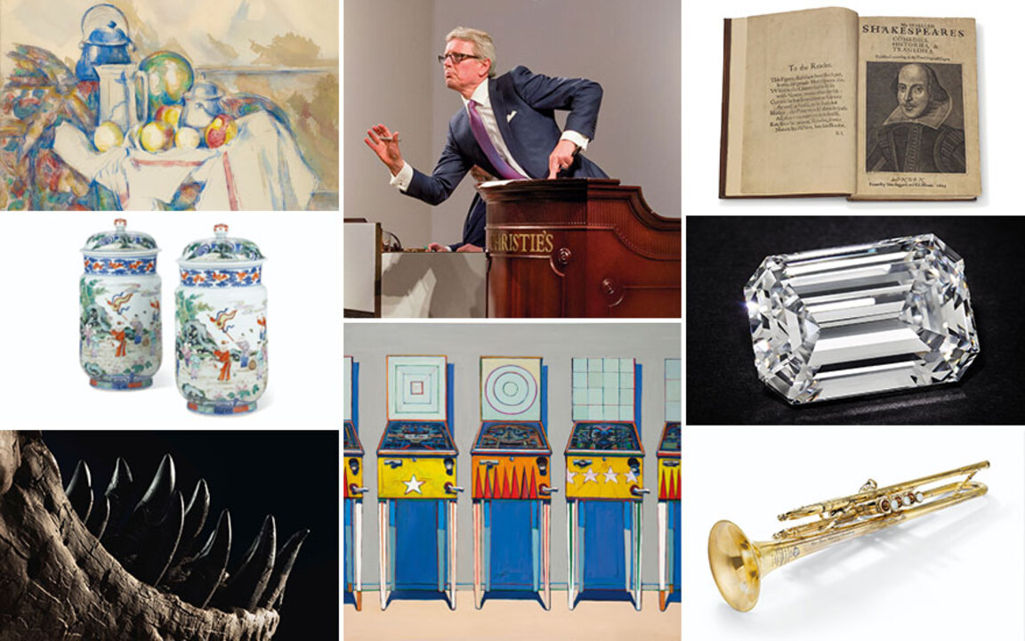 From ONE to 1,733,906,375: Chr auction at Christies