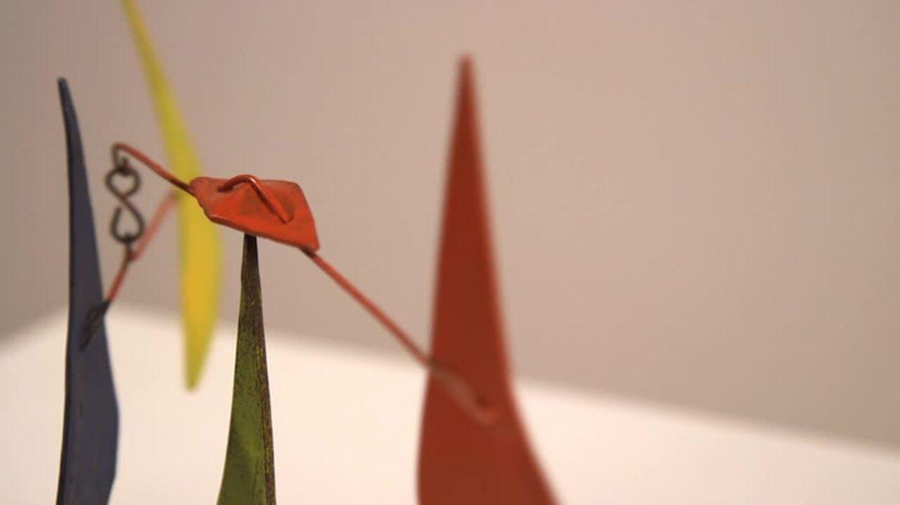 360 View: Alexander Calder's U auction at Christies