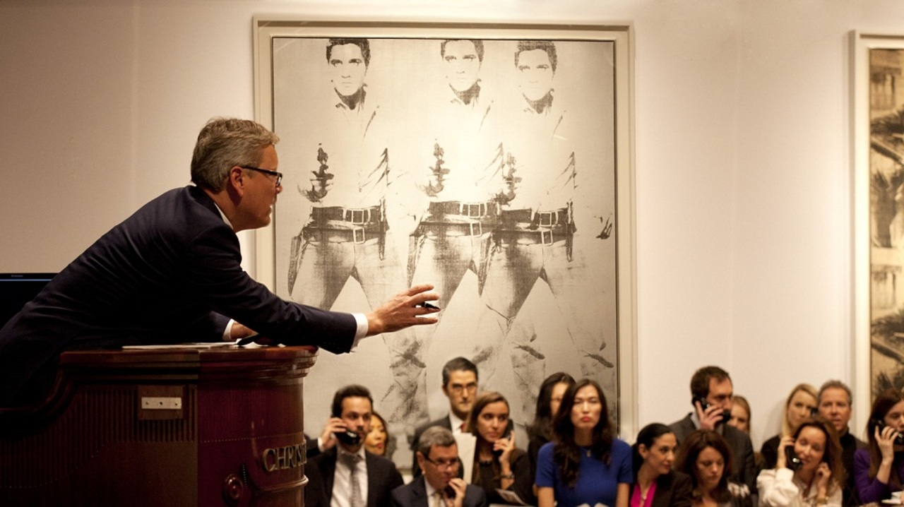 The Highest Total in Auction H auction at Christies