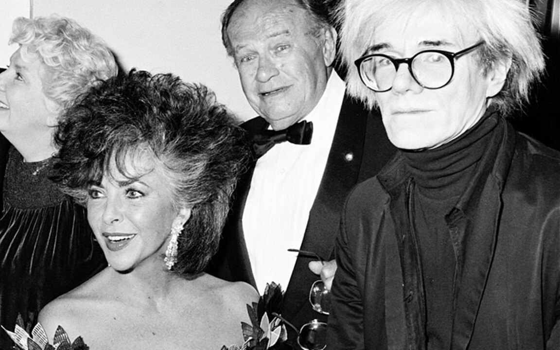 Andy Warhol and Liz Taylor auction at Christies