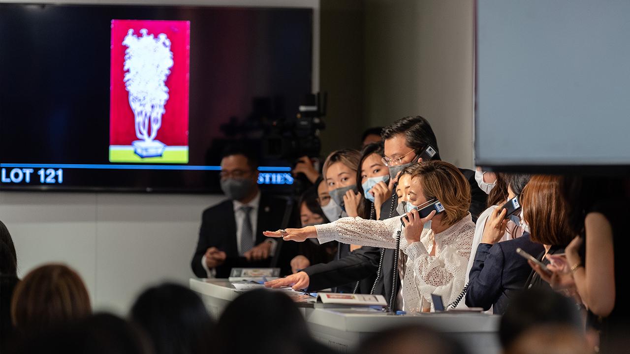 Christies Hong Kong Modern and auction at Christies