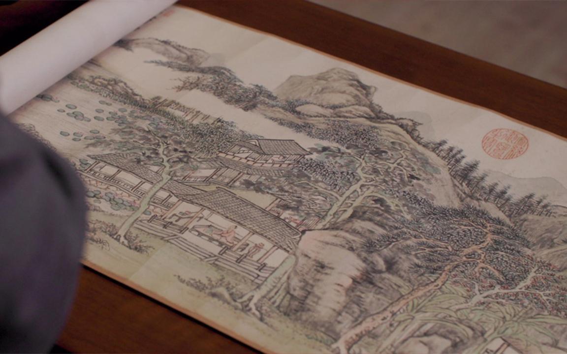 乾隆帝青睞有加的丹青妙筆——張宗蒼《梧館新秋》 auction at Christies