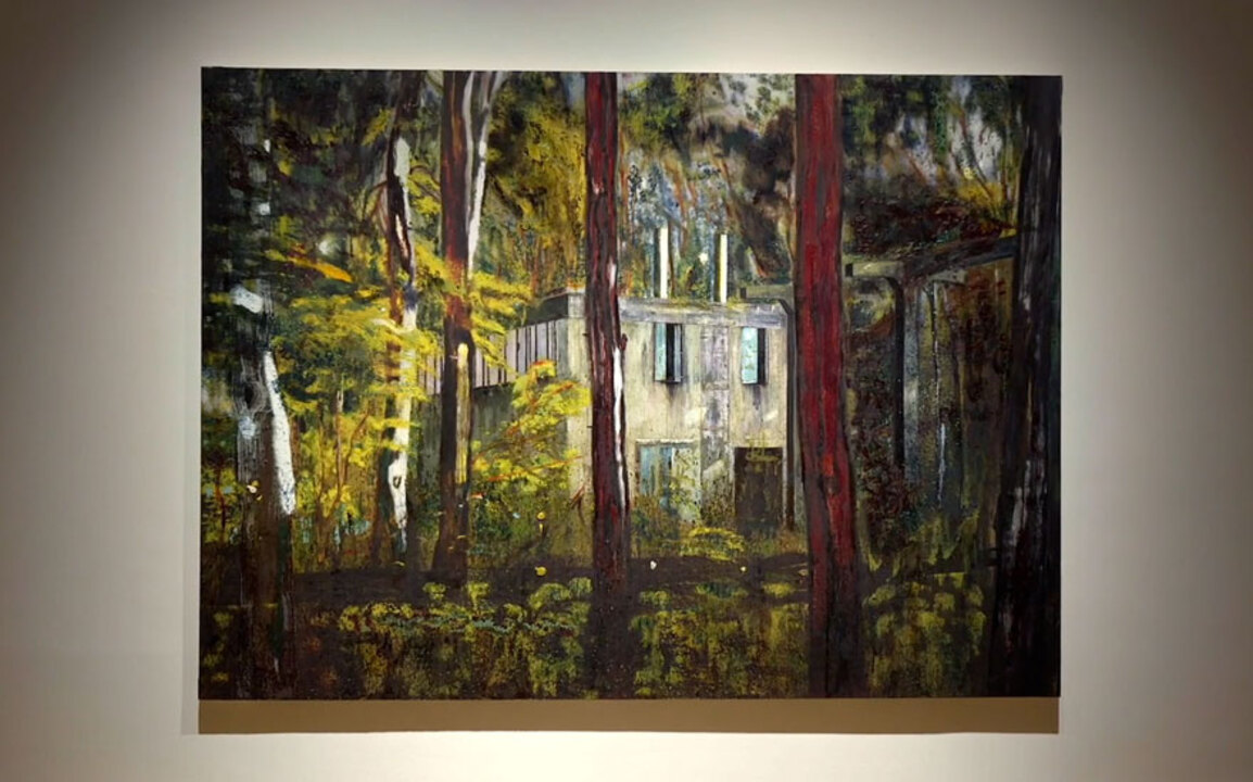 Peter Doig's Boiler House: a m auction at Christies