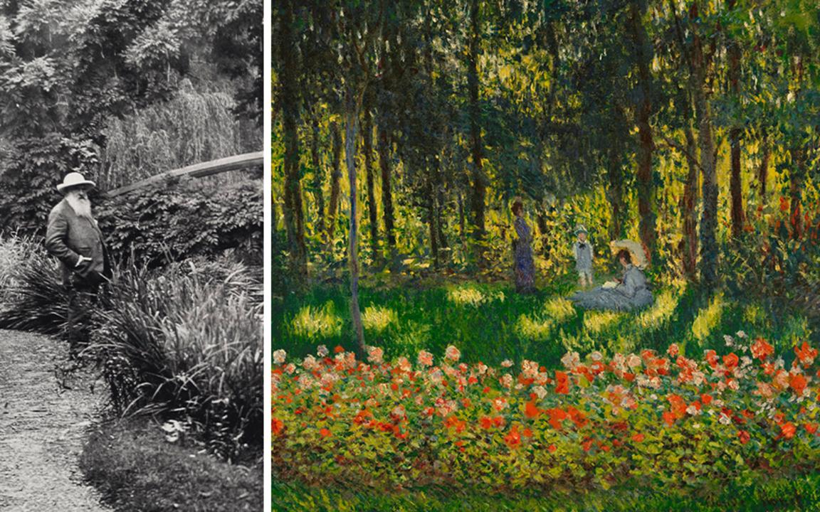 """""""醉人花园美景"""":探索莫奈的绚丽花园画作 auction at Christies"""