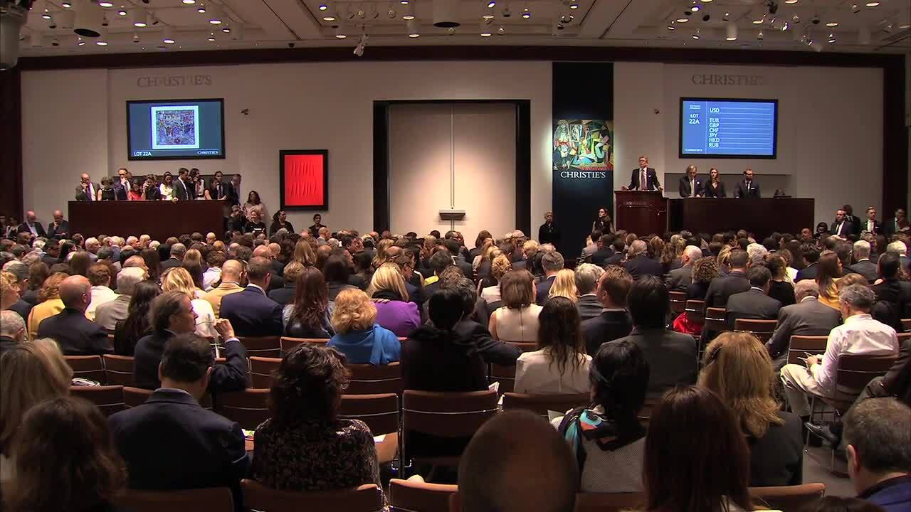 In The Saleroom: Jean Dubuffet auction at Christies