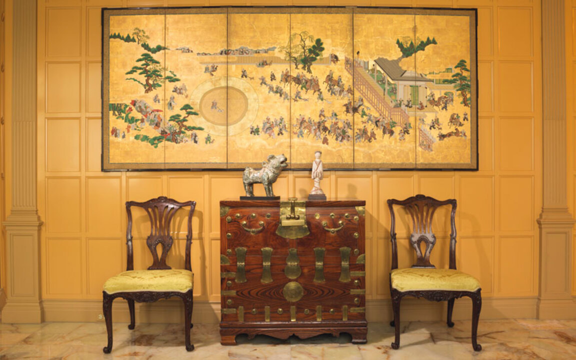 Prized Asian art from the home auction at Christies
