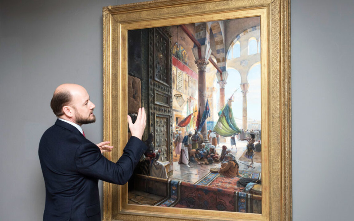 5 minutes with... An important auction at Christies