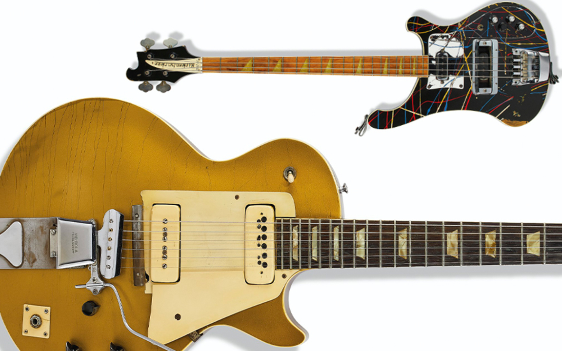 Collecting guide: guitars auction at Christies