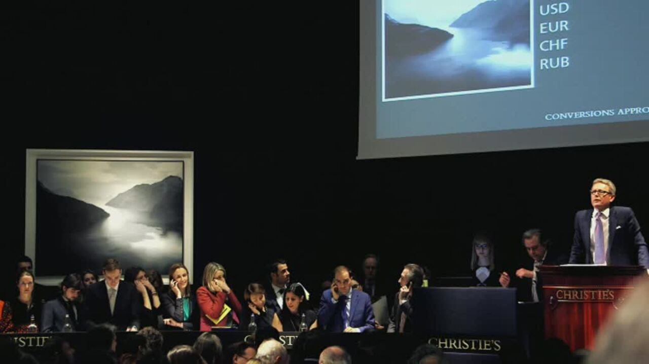 In The Saleroom: Gerhard Richt auction at Christies