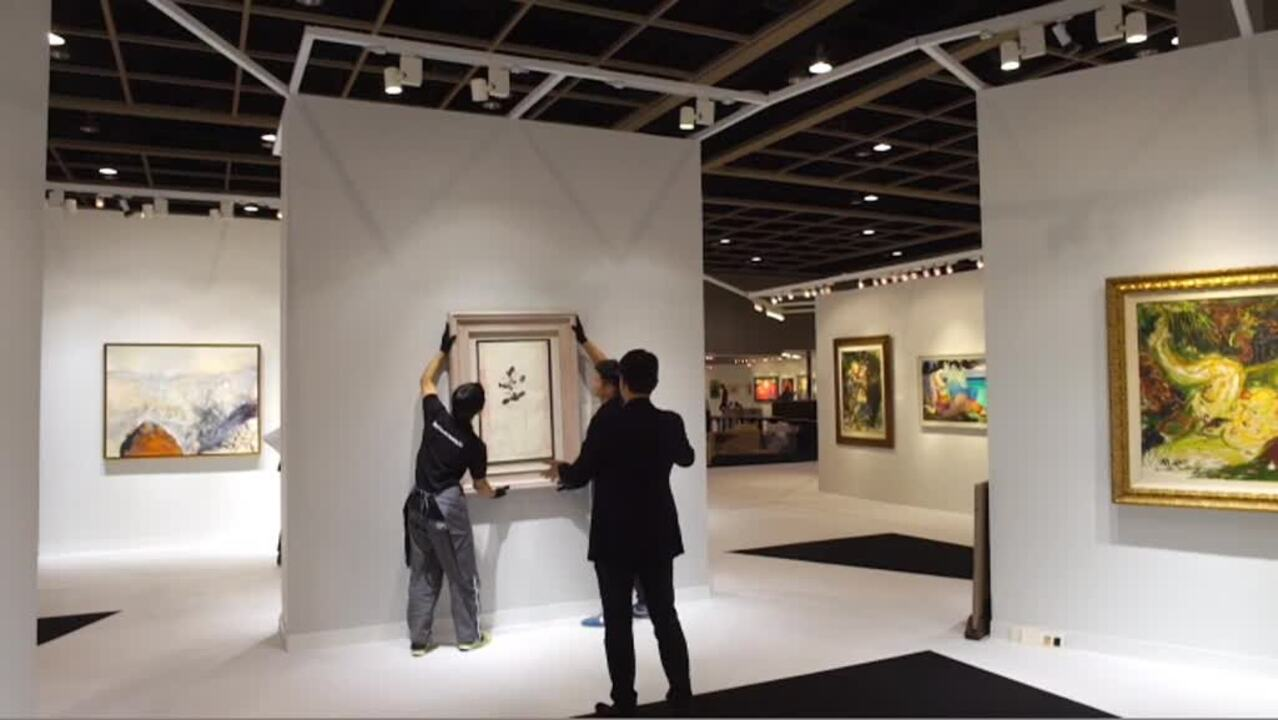 Asian 20th Century and Contemp auction at Christies