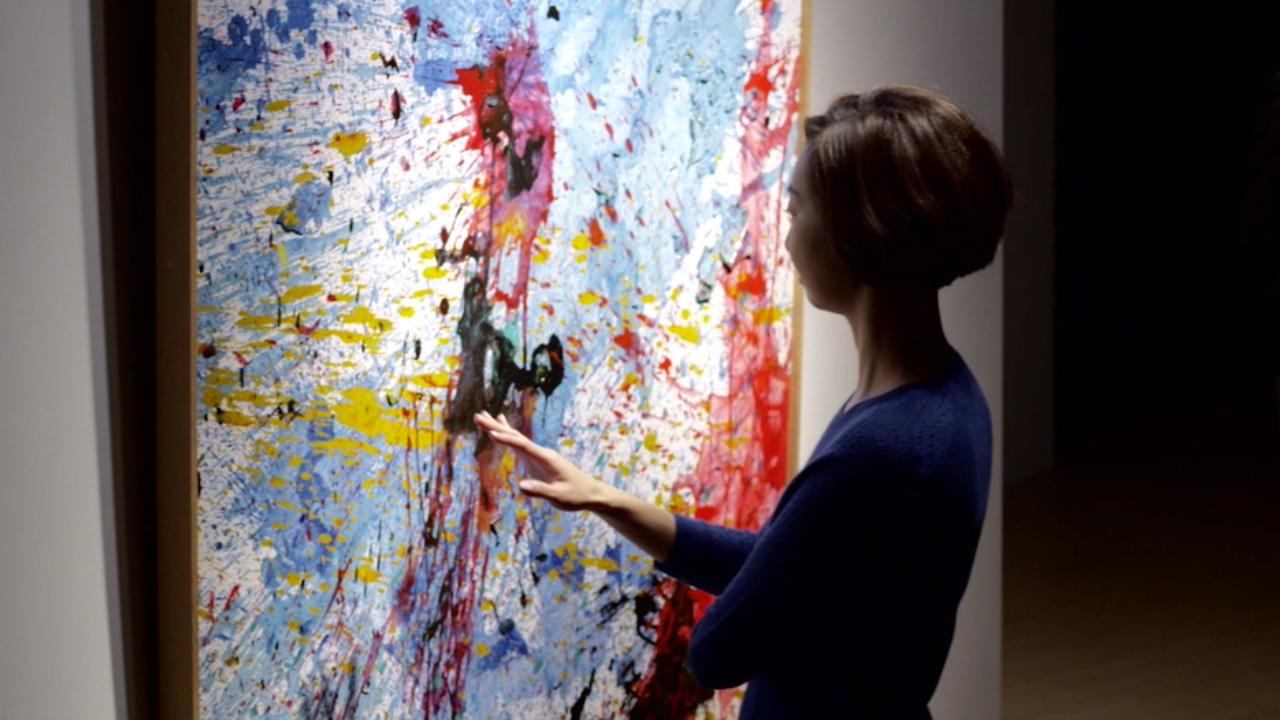 The Power of Gutai & Yayoi Kus auction at Christies