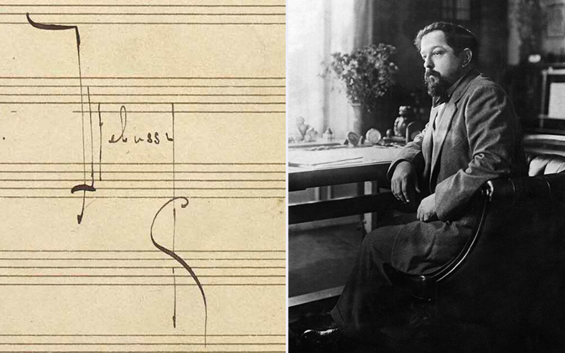 Claude Debussy's rediscovered  auction at Christies