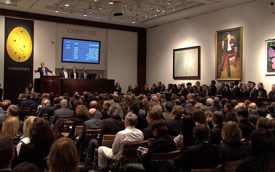 New York salutes Freud's Briga auction at Christies