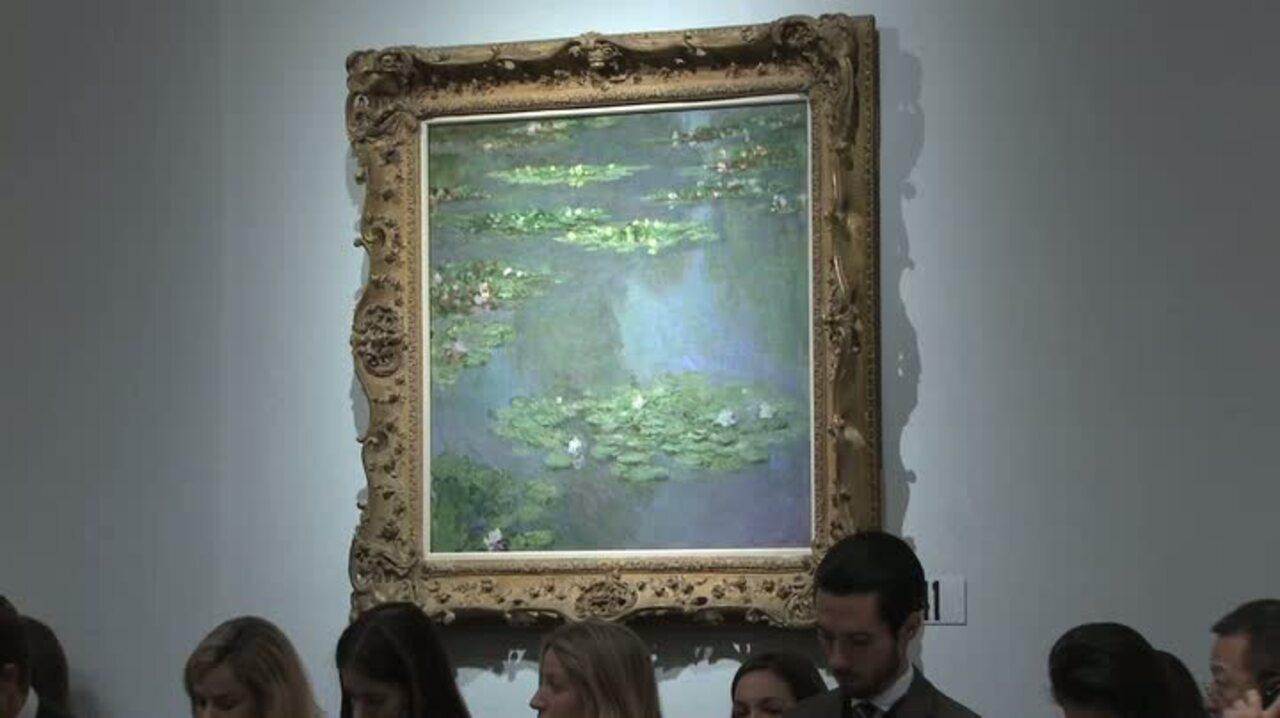 In The Saleroom: Claude Monet'