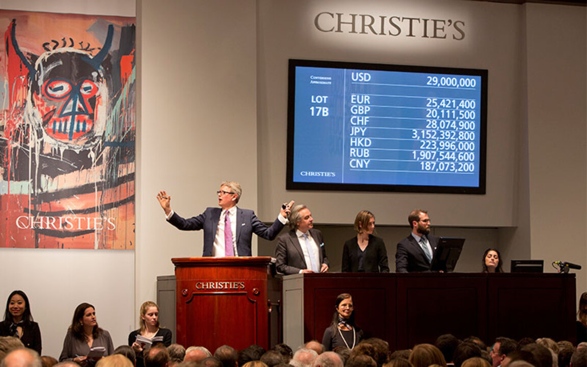 In the saleroom: Mark Rothko's auction at Christies