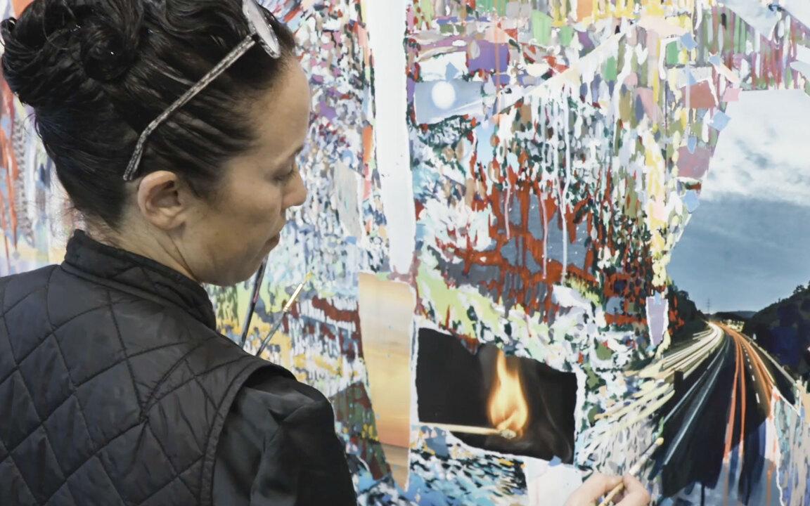 Studio visit: Sarah Sze