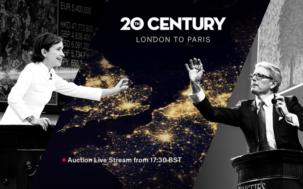 20th Century: London to Paris  auction at Christies