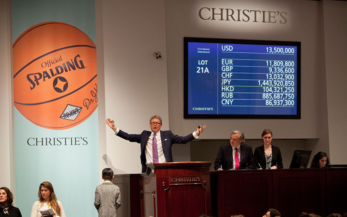 In the saleroom: Jeff Koons' O auction at Christies