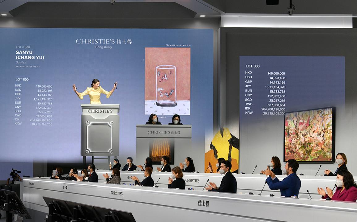 常玉與圖盧茲-勞特累克鉅作分別領銜香港與紐約現當代聯合夜拍 auction at Christies