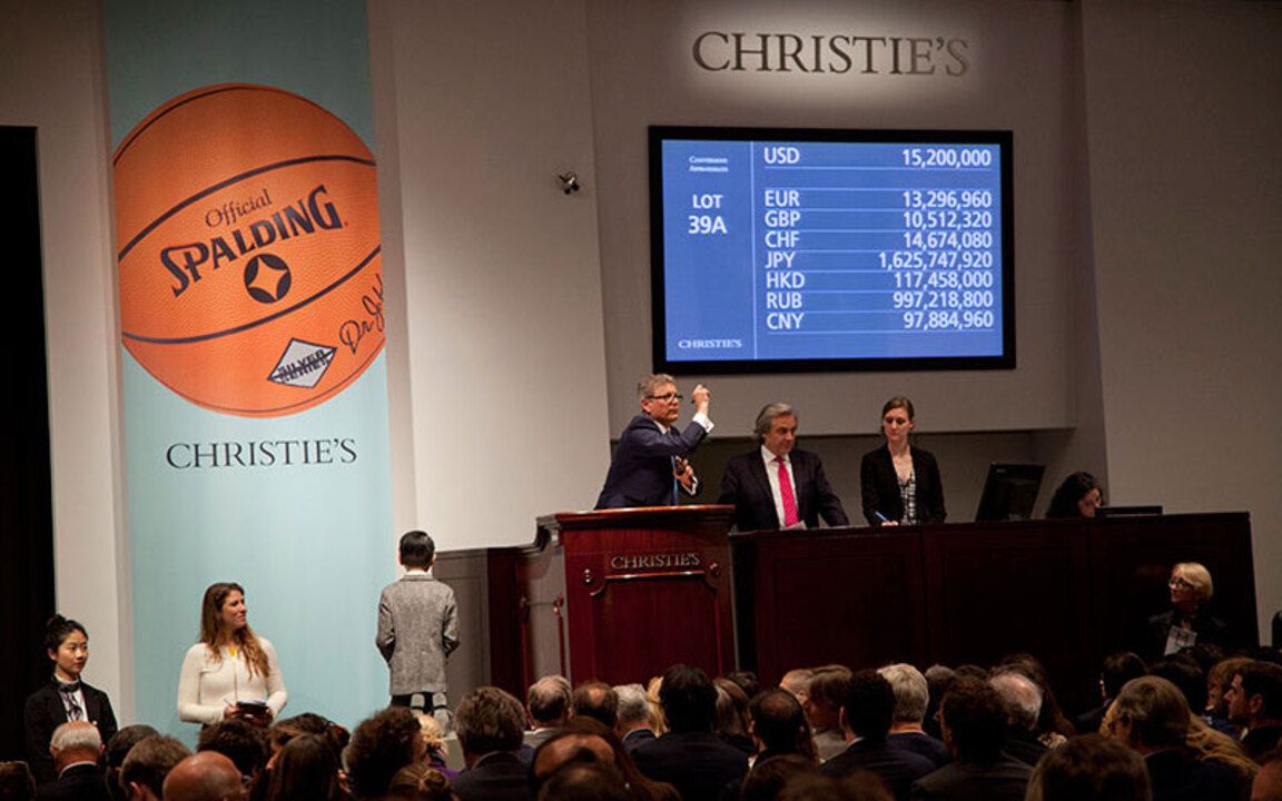 Success for Bound to Fail on a auction at Christies