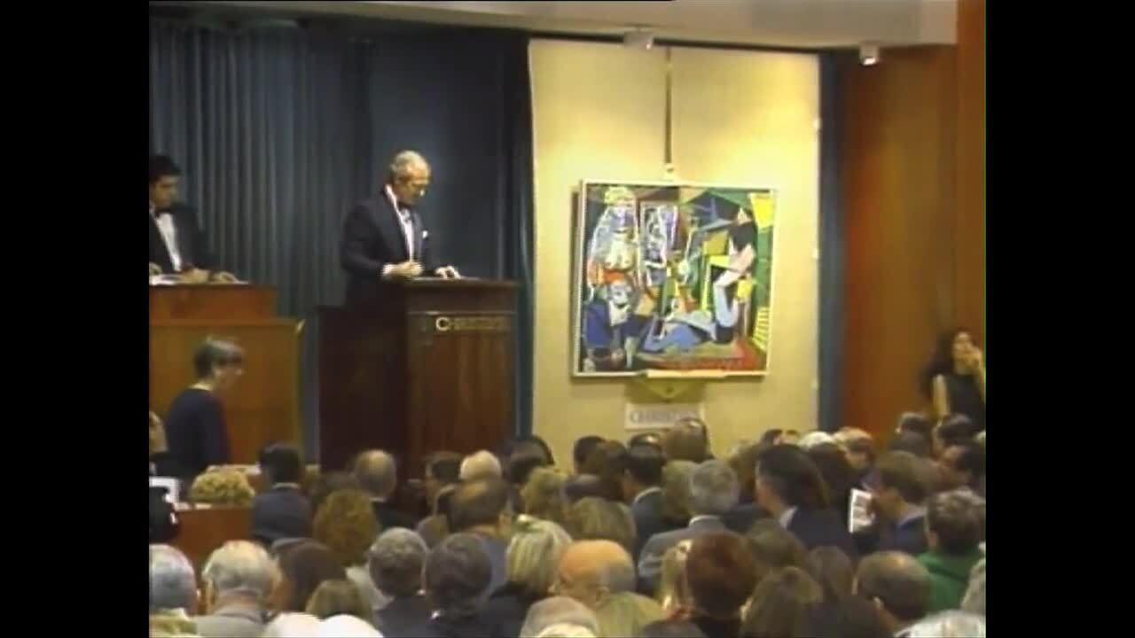 Pablo Picasso's Les femmes d'A auction at Christies