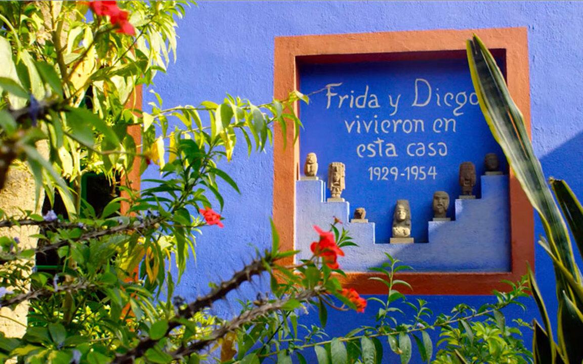 A tour of Frida Kahlo's home