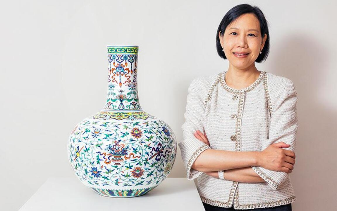 5 minutes with... A tianqiupin auction at Christies