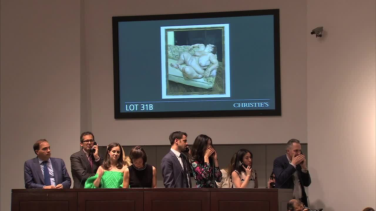 In The Saleroom: Lucian Freud' auction at Christies