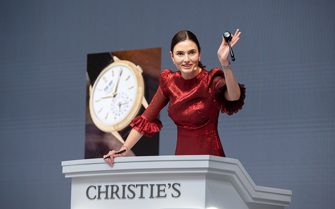 A Monumental Season of Luxury  auction at Christies