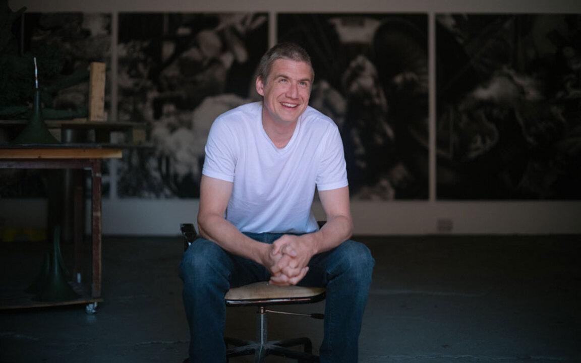 Studio visit: Hugo Wilson auction at Christies