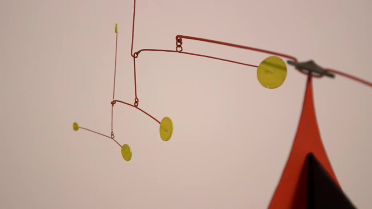 360 View: Alexander Calder's T auction at Christies