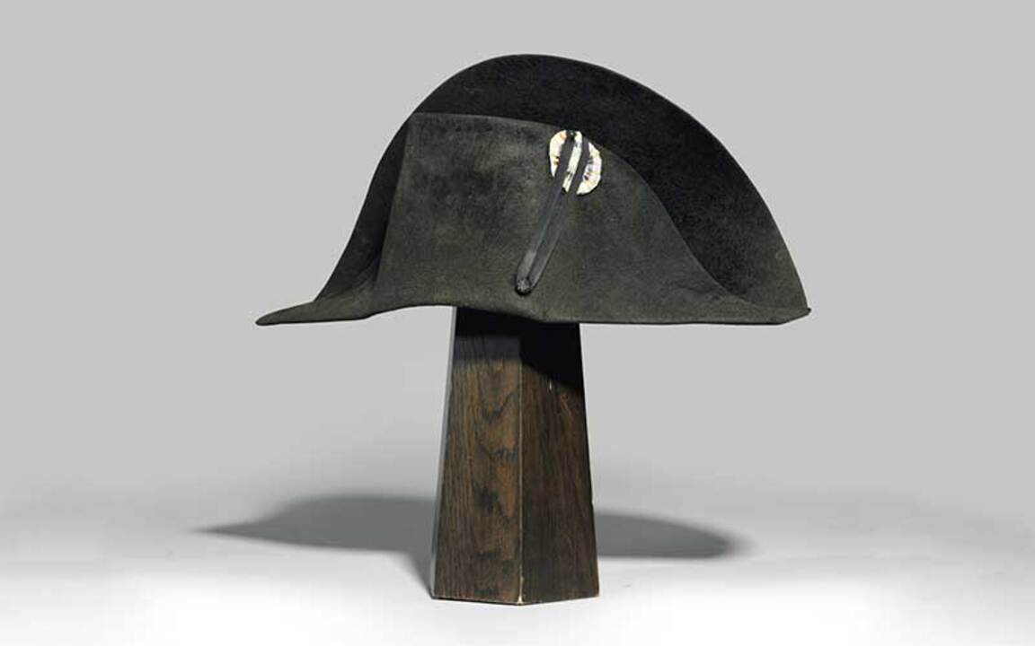 What Napoleon's hat tells us a