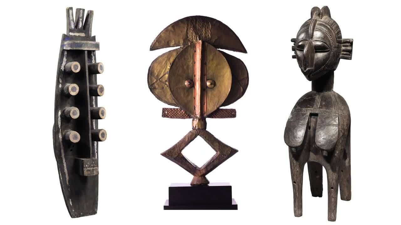 Highlights from the Art d'Afri auction at Christies