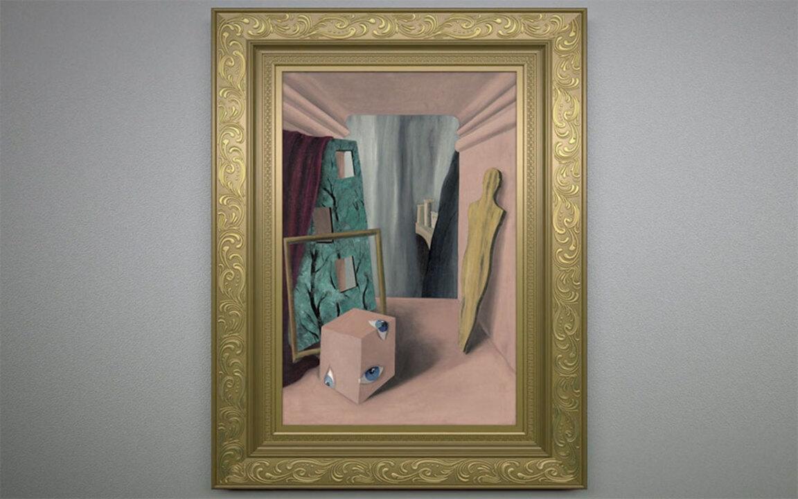 Step inside: RenéMagritte's L