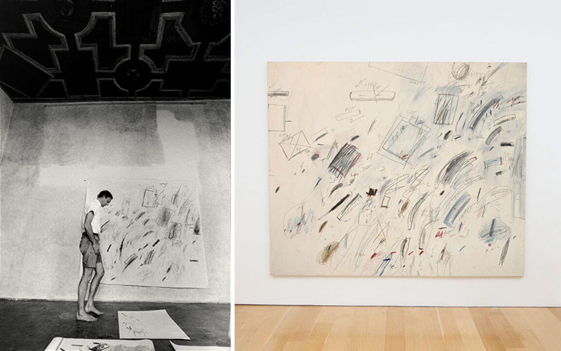 Moonstruck: Cy Twombly's homag auction at Christies