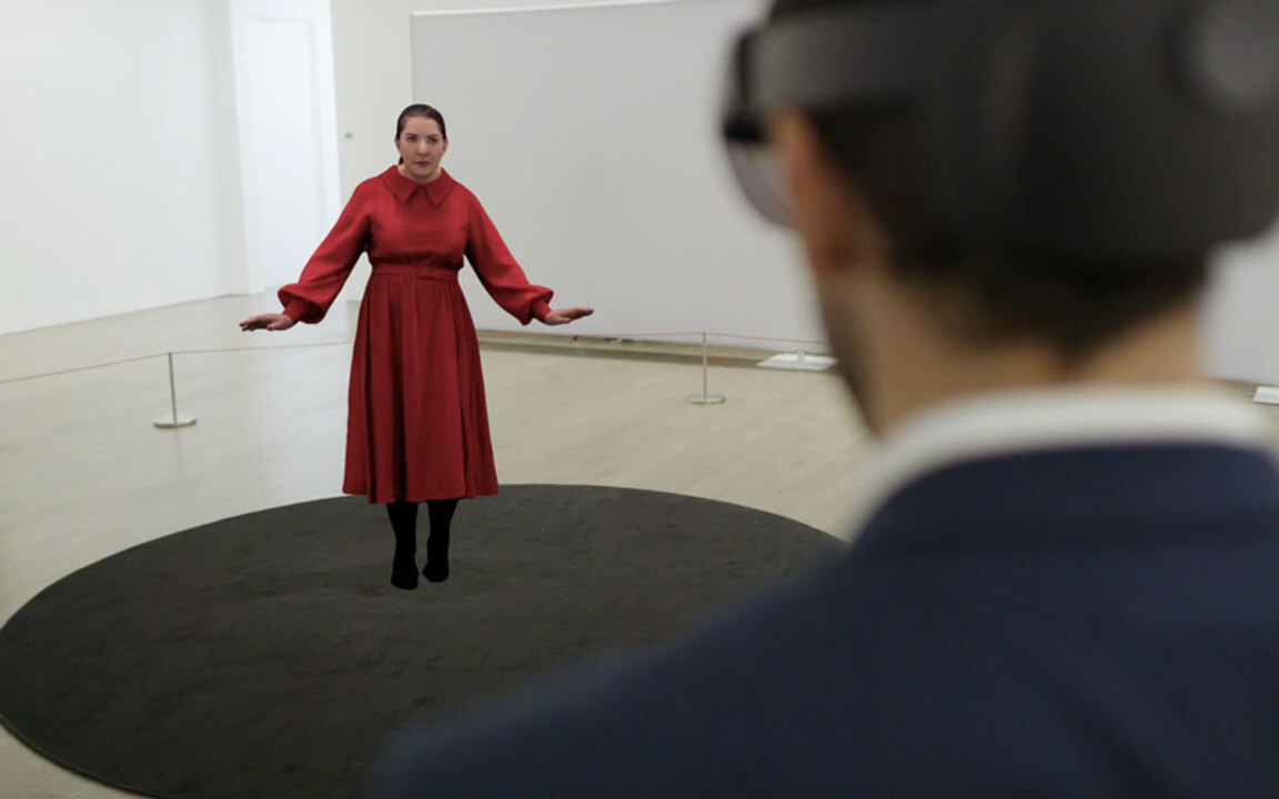 Marina Abramović's The Life —  auction at Christies
