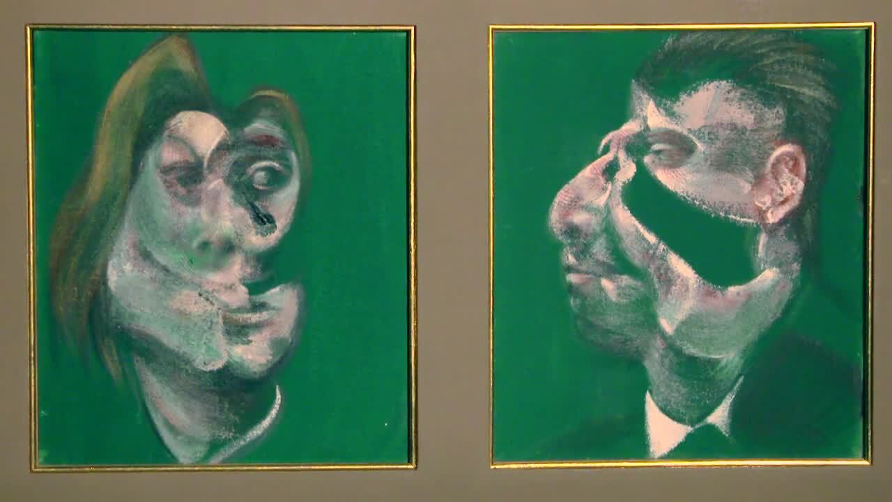 Francis Bacon's Study for Head auction at Christies