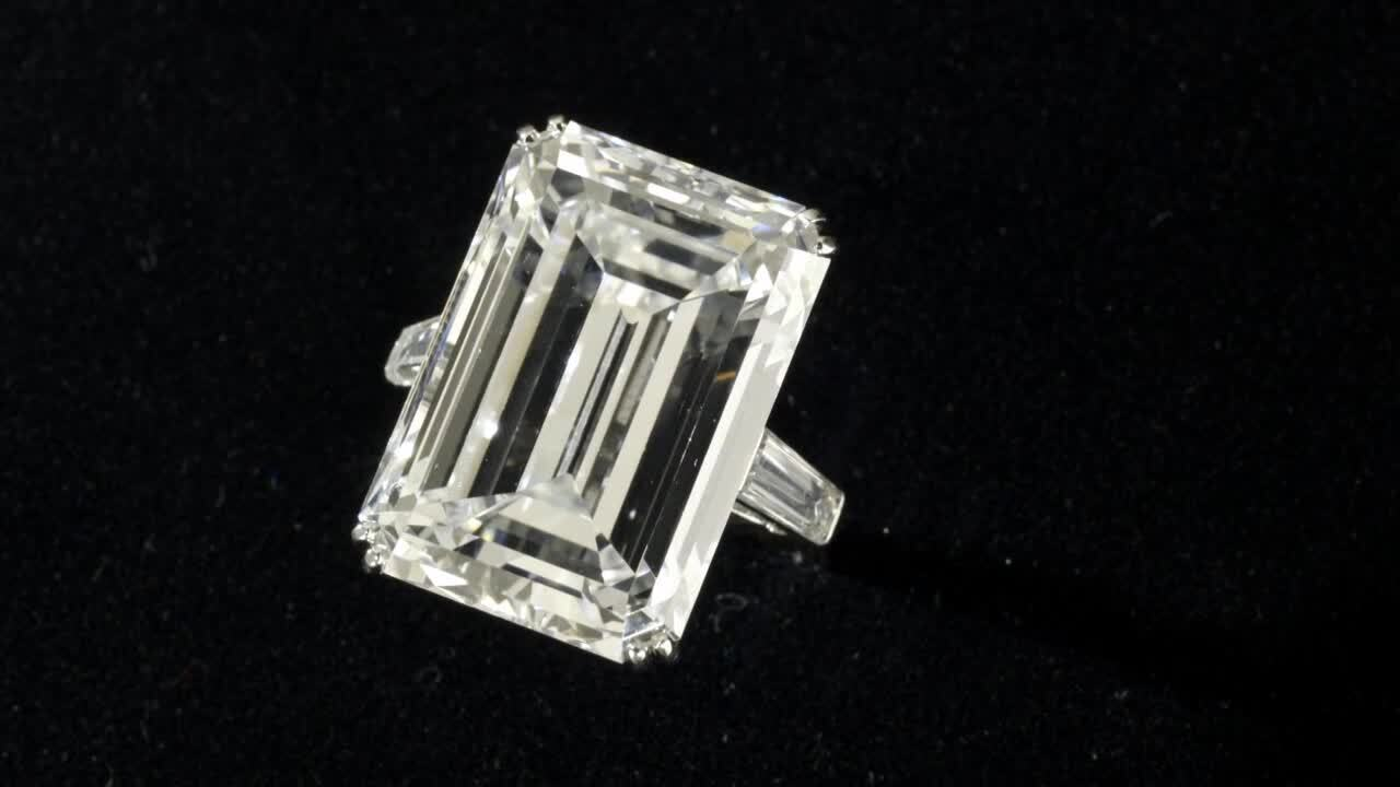 Diamond in the rough auction at Christies