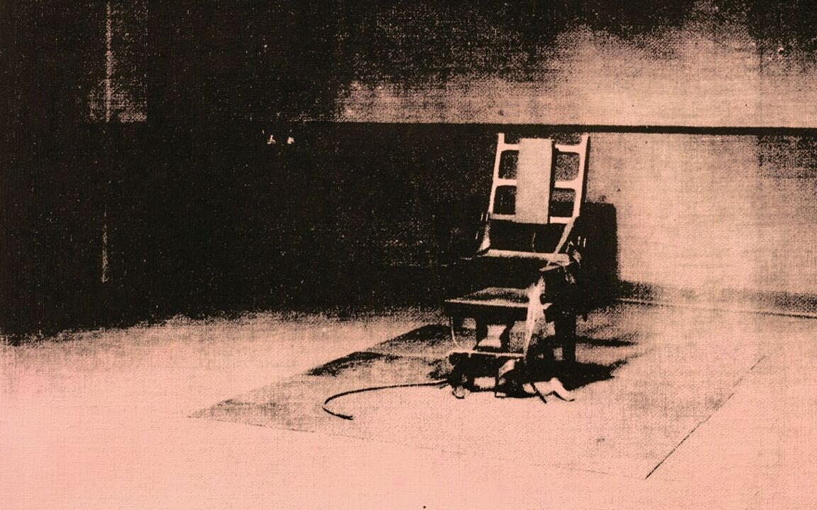 Little Electric Chair' by Andy Warhol (1964-65) | Christie's